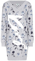 Kenzo Printed Cotton Sweatshirt Dress