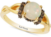LeVian Le Vian Chocolatier® Opal (3/4 ct. t.w.) and Diamond (1/5 ct. t.w.) set in 14k Gold