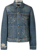 R 13 'Rebel Rebel' denim jacket