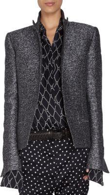 Haider Ackermann Tweed Blazer