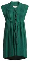 Etoile Isabel Marant Karen lace-up sleeveless mini dress