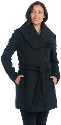 Nuage Italian Wool Cashmere Blend Trench Coat
