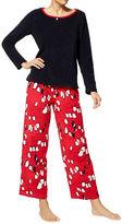 Hue Marching Penguins Microfleece Pyjama Set