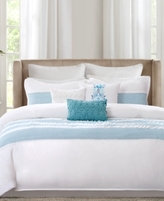 Echo Crete Teal Queen Comforter Set