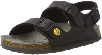 Birkenstock Unisex Adults' Milano Birko-Flor ESD Ankle Strap Sandals