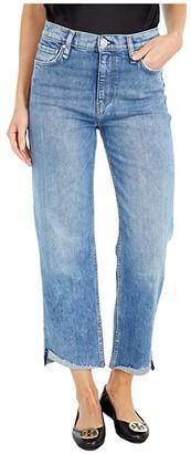 Hudson Remi High-Rise Straight Cropped in Nostalgic (Nostalgic) Women's Jeans
