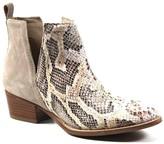 Diba True V-Cut Leather Booties - Short Side