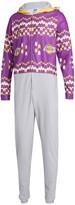 Unbranded Men's Concepts Sport Purple Los Angeles Lakers Ugly Sweater Fleece Hoodie Union Suit