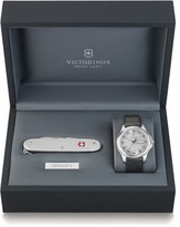 Swiss Army Victorinox Officer's Watch & Knife Gift Set