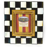 "Mackenzie Childs MacKenzie-Childs - Courtly Check Enamel Frame - 2.5"" x 3"