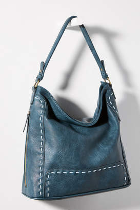 Anthropologie Flora Slouchy Tote Bag