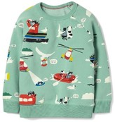 Boy's Mini Boden Coastal Sweatshirt