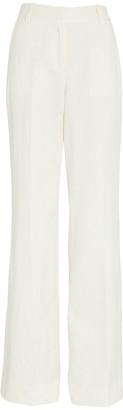 Derek Lam 10 Crosby Wide-Leg Linen-Blend Pants