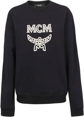 MCM Logo Patch Sweatshirt