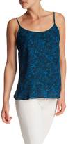 Joe Fresh Printed Ruffle Hem Tank
