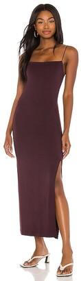 Enza Costa X REVOLVE Strappy Side Slit Maxi Dress