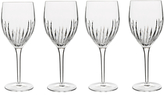 Luigi Bormioli Incanto Red Wine Glasses, Clear, 390ml, Set of 4