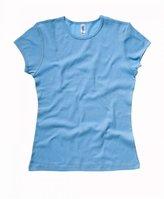 B.ella Ladies Super soft 1x1 baby rib knit fabric T Shirt - XX - Large