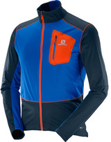 Salomon Men's Equipe Softshell Full Zip Jacket