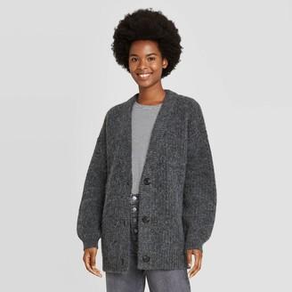 Universal Thread Women's Oversized Button-Front Cardigan - Universal ThreadTM