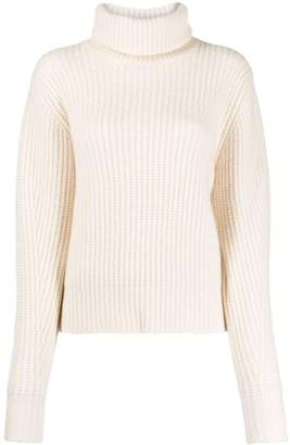 Essentiel Antwerp roll-neck waffle knit jumper