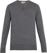 Burberry Kempton V-neck wool sweater