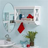 Asstd National Brand 1-Shelf Bathroom Shelf