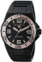 Swiss Legend Men's 10008-BB-11-RA Expedition Analog Display Swiss Quartz Black Watch