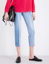 Stella McCartney Kim straight cropped mid-rise jeans