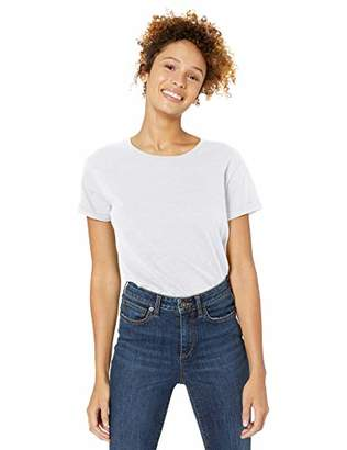 Goodthreads Vintage Cotton Roll-sleeve Open Crew T-shirt(EU 2XL)