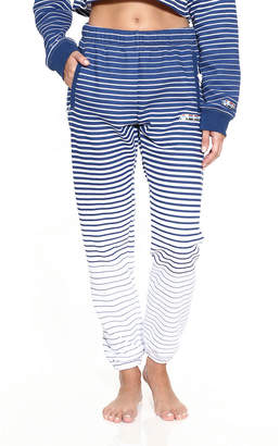 Adam Selman Striped Unisex Logo Sweatpants