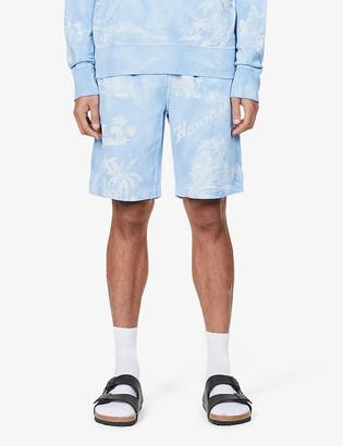 Polo Ralph Lauren Hawaiian Spa Terry cotton-jersey shorts