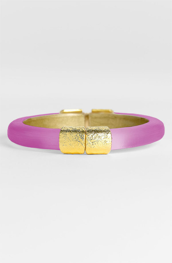 Alexis Bittar 'Lucite' Small Hinged Bracelet