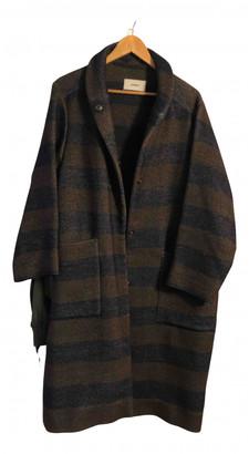 Humanoid Brown Wool Coats