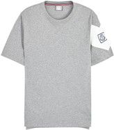 Moncler Gamme Bleu Grey Cotton T-shirt