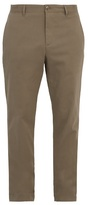 A.p.c. High Slim-leg Stretch-cotton Chino Trousers