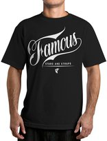 Famous Stars & Straps Men's The Gent Graphic T-Shirt-Medium