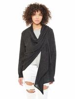 Alternative Alpaca Overlap Wrap Sweater