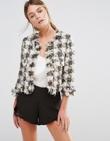 Darling Checked Blazer