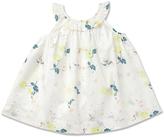 Marie Chantal Floral Frill Neck Dress