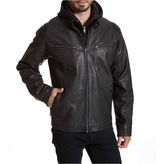 Excelled Leather EXCELLED FAUX LEATHER RACER JACKET