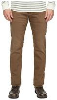 AG Adriano Goldschmied Matchbox Slim Straight Leg Denim in 2 Years Forest Brown Men's Jeans