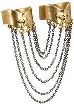 Wildfox Couture Star Chain Ring (Gold) - Jewelry