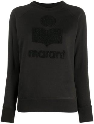 Etoile Isabel Marant Long Sleeve Logo Sweater