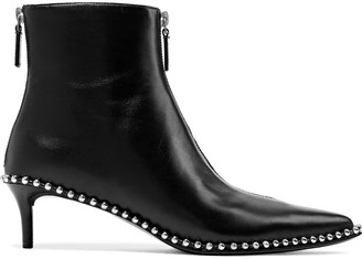 Alexander Wang Eri Studded Leather Ankle Boots