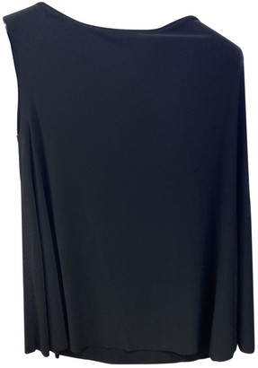 Norma Kamali Black Top for Women