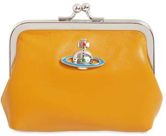 Vivienne Westwood EMMA SMOOTH LEATHER COIN PURSE