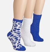 Avenue Blue Cheetah Cozy Socks