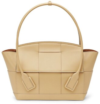 Bottega Veneta Leather Arco 48 Top-Handle Bag