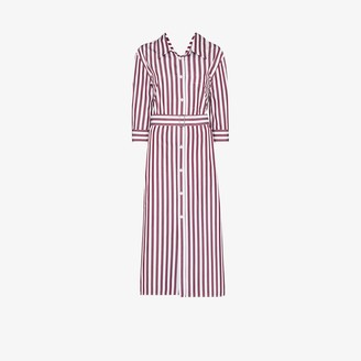 Marni Striped Cotton Shirt Dress